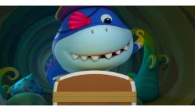 怪兽车与海盗鲨鱼