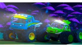 爱探险的怪兽车
