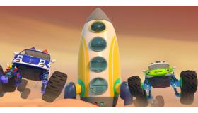 怪兽车太空探险
