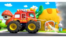 怪兽消防车