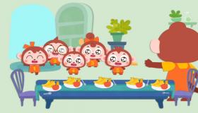 五只猴子的一天