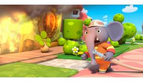 勇敢的大象消防员