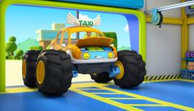 怪兽车受伤了