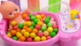 糖果泡泡浴