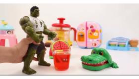 绿巨人爱喝果汁