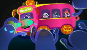 巴士车外的妖怪