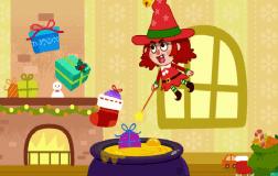 圣诞节小女巫
