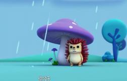 """小动物们的""""伞"""""""